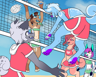 SSF Prompt #1 Vollyball by JC-Timer