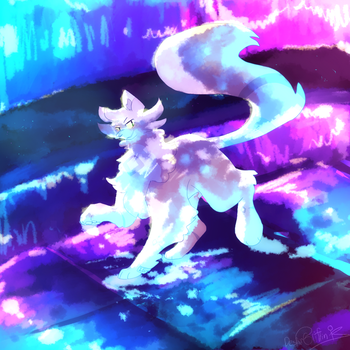 [Art Trade] Painted Hues by DespairGriffin