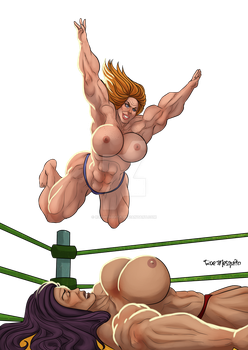 [C] Wrestler 19 by roemesquita