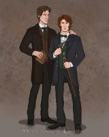 Whyborne and Griffin by catherine-dair