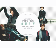 Pack png render: Onew | SHINEE #01 by VipArmy