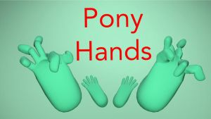 Pony Hands [DL] by EDplus