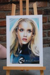 Jessica Alba fantastic four . Completed . by Cap007