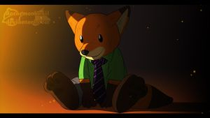 Zootopia - Nick Wilde Plush in Wilde Times by doraemonbasil