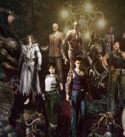 Resident Evil Poster (Crop #01) by marblegallery7