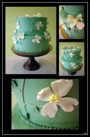 Dogwood Cake by Heidilu22