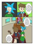 My Life as a blue haired sorceress page 25 by epic-agent-63