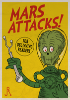 Mars Attacks! (for beginning readers) by DrFaustusAU