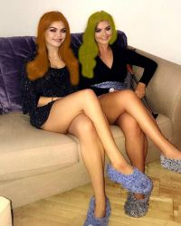 Sisters Blonde And Ginger by scotishjoker1edits