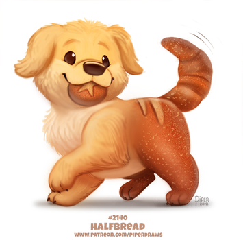 Daily Paint 2140. Halfbread by Cryptid-Creations