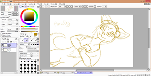 Analy (WIP) by Leila-Arts
