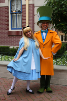 Alice and Hatter 02 by DisneyLizzi