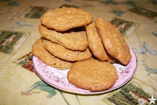 peanut butter cookies by rob0tmassacre
