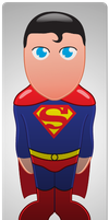 Superminis #2: Superman by AKsolut