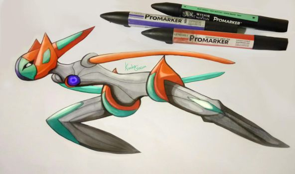 Speed Deoxys by KimikoGlaciem