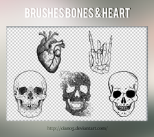 Brushes Bones and Heart [Cian05] by Cian05