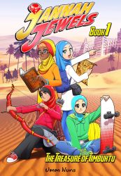 Jannah Jewels - book 1 cover by Nayzak