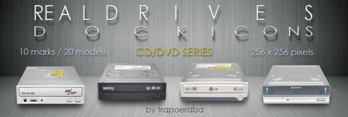Real Drives - CD-DVD series by trapoeraba