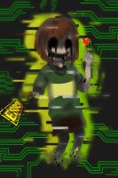 Glitchcode!Chara by Anime-Night-Dreamer