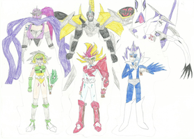 ZEXAL Warriors 2 by XBrain130