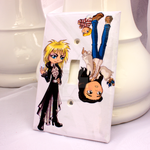 Labyrinth Light Switch Cover by thedustyphoenix