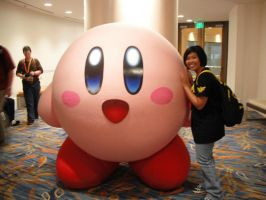 Giant Kirby by SLiDER-chan