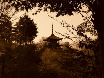 Pagoda by togistock