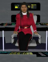 Captain Candice Mathis by TrekkieGal