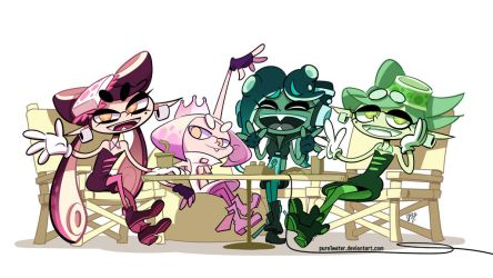 Collaboration Inkarnation (Splatoon) by pure1water