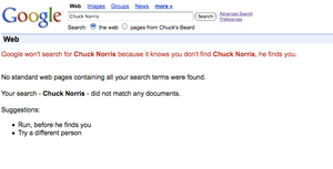 chuck norris google by Pointsettia