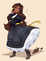 Yellow Heiress by Sangled