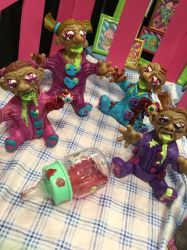 Zombabies NYCC 2014 by spulunk