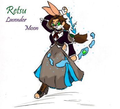 Retsu the lavender moon by Pace-Maker