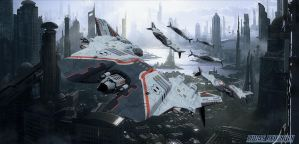 SCIMITAR DRONE FIGHTER SQUADRON by LUCAS-REDESIGN