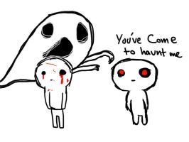 You Come To Haunt Me by AznFlesh
