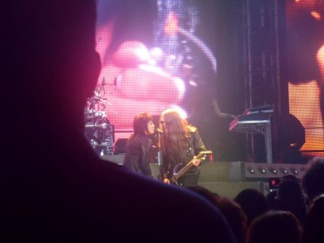 Paul O'Neill and Joan Jett Singing Together by 9fanforever9909