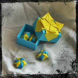 Origami box: Playful summer by nefer-et