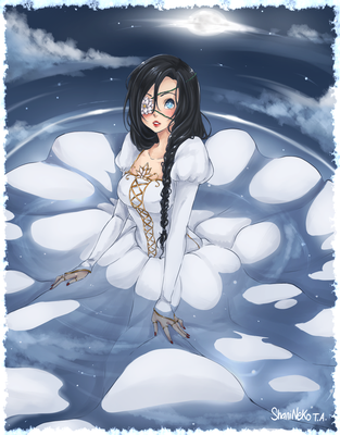 The Bride in the Water by ShaniNeko