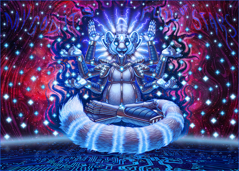 Commission: Farore's Inner Steller Space Odessey by eorhythm