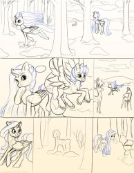 Chapter 12 page 4 sketch by FlyingPony