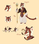 Tiger Mage Adopt (Closed) by catwitches