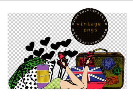 vintage stuff set 01 by spectacularstyle