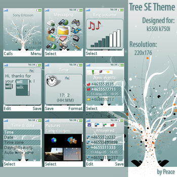 Tree Theme by iPeace
