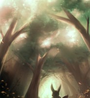 forest by mien-soup