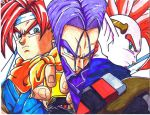 Chrono Trunks and Tapion by trunks24
