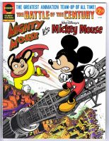 Mickey Mouse vs. Mighty Mouse by Ernimator
