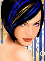 Celebrity Vector - Milla Jovovich by EmmaEsme