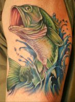 Todd's Bass Tattoo by Phedre1985