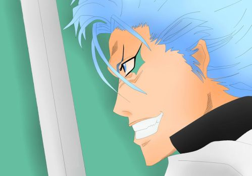 grimmjow by 1ookamineko1