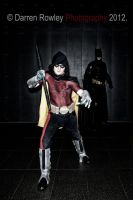Robin: Arkham City 1 by Red-Space-Ranger